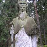 poškození sochy sv. Stanislava vandaly