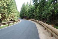 Lesní cesta Bedřichovská je po roční rekonstrukci průjezdná bez omezení
