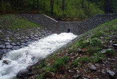 Vrbno pod Pradědem na Bruntálsku je díky Lesům ČR lépe ochráněno proti velké vodě