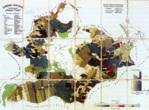 Mapa Horního hvozdu zroku 1938