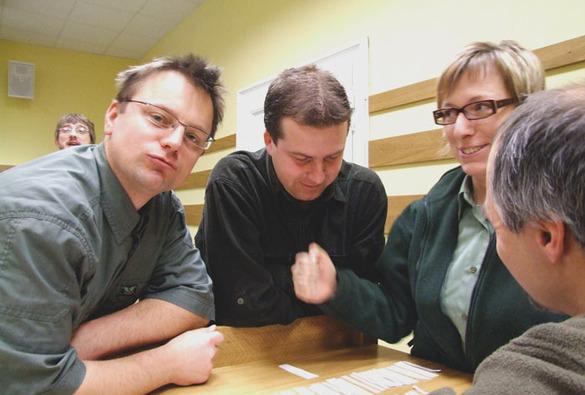Kurz lesní pedagogiky vHranicích na Moravě – únor 2007