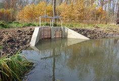 Lesy ČR dokončily revitalizaci vodního toku Medvídka vlužním lese na Hodonínsku