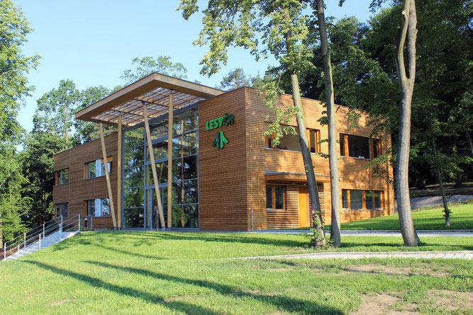 Výsledek obrázku pro lesy čr budova sídla