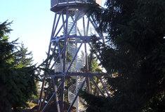 28. října Lesy ČR slavnostně otevřou novou rozhlednu na Anenském vrchu vOrlických horách