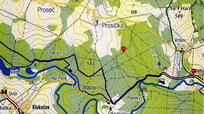 """Vycházková trasa """"Kozí roh – Ústupky"""" aNaučná stezka """"Jeřábka"""""""