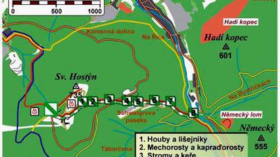 Příroda Hostýnských vrchů