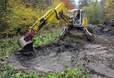 Ochránci přírody obnovují slesníky vodní tůně
