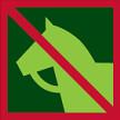 Zákaz jízdy na koni do porostu