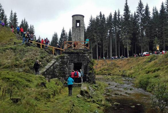 Stoleté výročí protržení přehrady nad Desnou vJizerských horách
