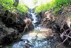 Lesy ČR opravily poškozené hrazení na přítoku Struhařského potoka