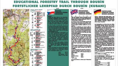 Lesnická naučná stezka Boubínem