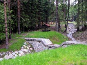 lesní altán – PP Chrudimky č. 2