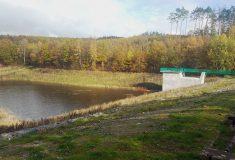 Lesy ČR opravily vodní nádrž v Osvětimanech ve Zlínském kraji
