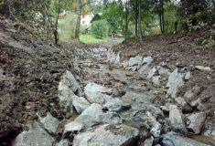 Lesy ČR rekonstruovaly v Orlických horách koryto Osečnického potoka