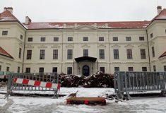 Areál zámku v Židlochovicích je kvůli stavbě uzavřen