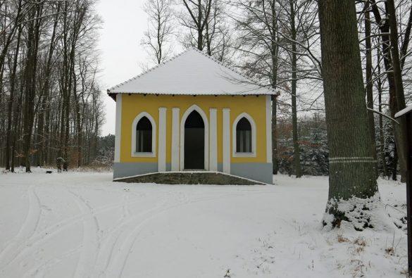 Oprava historické lesní stavby Lusthaus ve správě státního podniku Lesy ČR