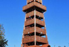 Rozhledna na Velkém Javorníku v Beskydech je opět otevřená