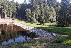 Lesy ČR obnovily další tři vodní nádrže, tentokrát na Vysočině