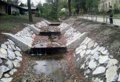 Lesy ČR provedly protipovodňovou úpravu Ondřejovického potoka