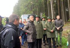 Ministr Toman: Ministerstvo zvyšuje podpory do lesního hospodářství každým rokem. Letos chceme vlastníkům poskytnout až 4miliardy na obnovu lesů