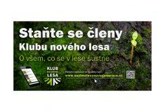 Lesy ČR zakládají Klub nového lesa