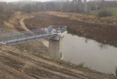 Lesy ČR právě dokončily rekonstrukci vodní nádrže Markovka u Třebíče
