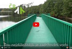 Součástí stabilizace koryta Kudlovského potoka byla i sanace místní nelegální skládky