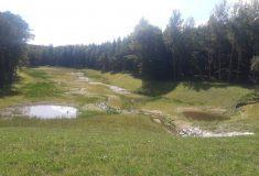 Suchá nádrž na Chrudimsku pojme stoletou vodu: Postavily ji Lesy ČR