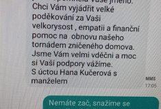 """Lesy ČR pomáhají tornádem postižené Moravě""""Nemáte zač, když to jde a můžeme"""""""